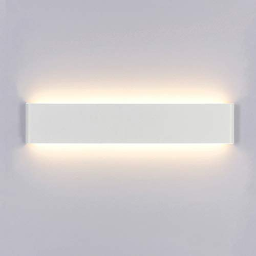 Yafido Aplique Pared Interior LED 14W Lámpara de pared Moderna Blanco Cálido Perfecto para Salon Dormitorio Sala Pasillo Escalera