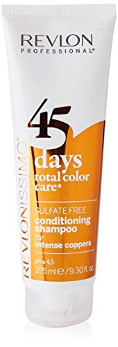 REVLON PROFESSIONAL 45 Days Conditioning For Intense Coppers Champú - 275 ml