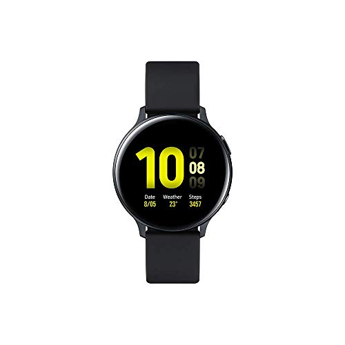 Samsung Galaxy Watch Active 2 (Bluetooth) 44mm, Aluminum, Black (Negro carbón) (SM-R820NZKAXEF)