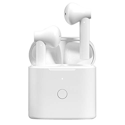 Auriculares Bluetooth, Control Táctil Inteligent Auriculares Inalámbricos Bluetooth 5.1 HiFi Mini Twins Estéreo In-Ear Auriculares inalámbricos con Tipo-C Cables