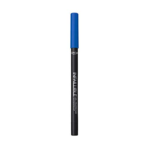 L'Oreal Paris Infalible Gel Crayon 24H Lapiz de Ojos Gel Waterproof 10 I'Ve Got The Blue