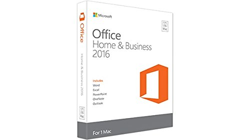 Microsoft Office Home & Business 2016 for Mac 1 licencia(s) Plurilingüe - Suites de programas (1 licencia(s), Plurilingüe, Electronic Software Download (ESD), Mac OS X 10.10 Yosemite, 6000 MB, 4096 MB)