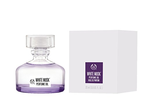 The Body Shop - Aceite perfumado con almizcle blanco, 20 ml, sin alcohol