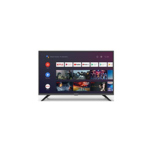 Schneider - Smart TV 32' LED32SC400ATV, Android TV, Wifi, Mirroring, Timeshift, HDMI, Negro