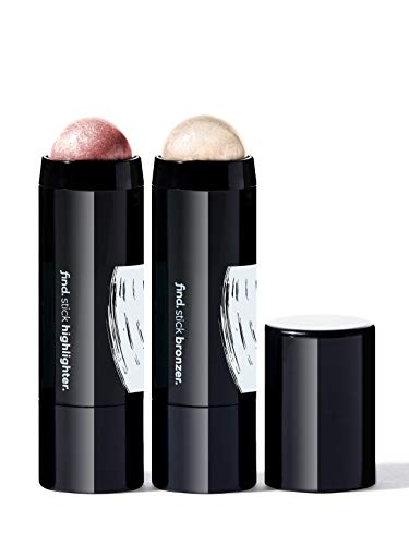 FIND - Cheek Sculptor Duo (Iluminador en barra n.1 + Colorete en barra)