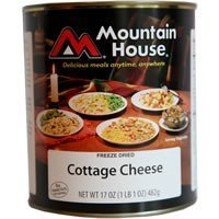 Mountain House Cottage Cheese #10 Can Freeze Dried Food - 6 Cans Per Case by Oregon Chai