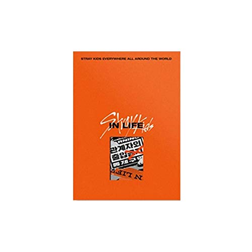 Stray Kids IN Life IN生 The 1st Album Repackage Standard A Version (Incl. Pre-Order Benefits : Poster (Folded), Mini Photobook, Seller Gift : Random Acrylic Photocard Set)