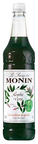 Monin Premium Green Mint Syrup 1 L