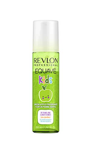 REVLON PROFESSIONAL Equave Kids Green Apple Acondicionador hipoalergénico desenredante para niños 200 ml