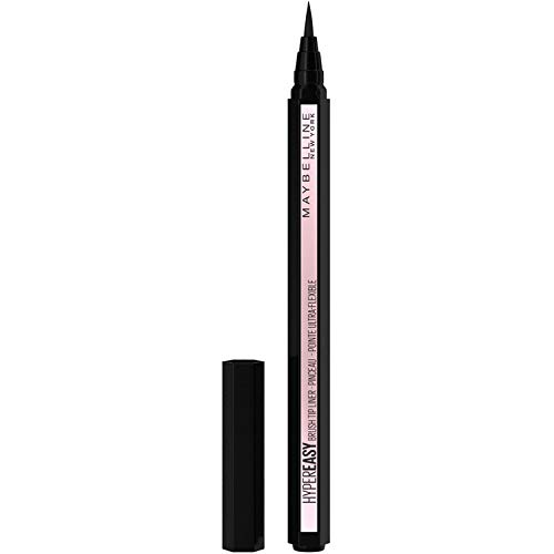 Maybelline New York - Eyeliner Rotulador Líquido Hypereasy Color Negro, 0.6 gr