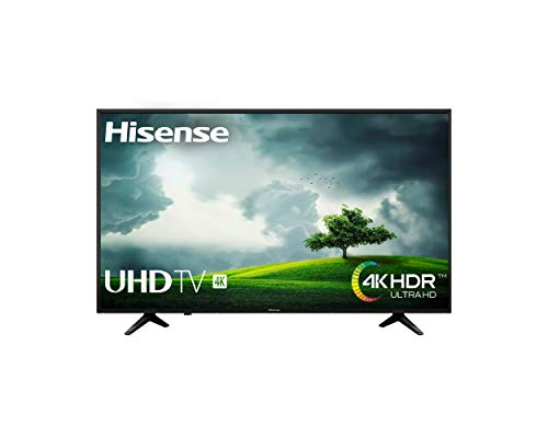 Hisense H55A6100 - TV Hisense 55' 4K, HDR, Smart TV VIDAA U, Super Contraste, Precision Color, Depth Enhanced, Remote Now, Procesador Quad Core