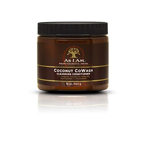 As I Am Coconut Cowash Cleansing Conditioner - acondicionadores (Mujeres, Hidratante, Aqueous (Water, Aqua Purificada, Purified) Extracts: Cocos Nucifera (Coconut) and Citrus Reticulata , - Wet hair thoroughly - Rub a liberal amount within palms and distribute throughout hair)