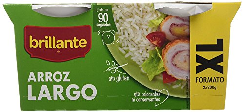 Brillante Arroz Largo -  Pack de 16 vasitos X 200 Gr - Total 3200 Gr