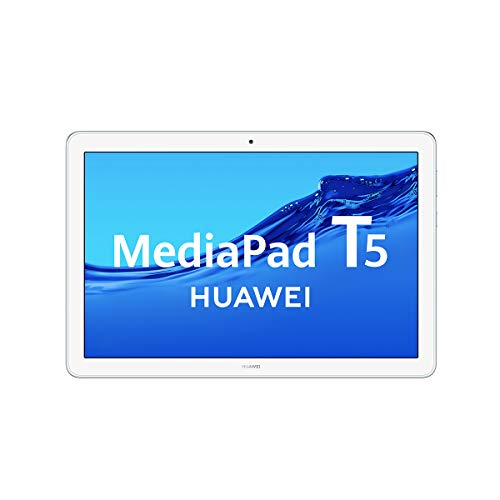 Huawei Media Pad T5 - Tablet de 10.1' Full HD (Wifi, RAM de 3 GB, ROM de 32 GB, Android 8.0, EMUI 8.0), Azul Claro (Mist Blue)