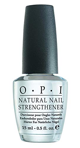 OPI Natural Nail Strengthener – Endurecedor para Uñas Naturales, Efecto Manicura Profesional - 15 ml