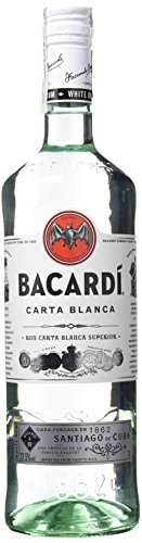 Bacardi Carta Blanca Ron - 1000 ml