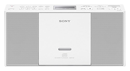 Sony ZSPE60 Color blanco- Microcadena USB, CD, Radio