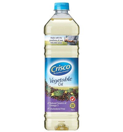 Crisco Aceite Vegetal de 750 ml
