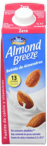 Almond Breeze Bebida de Almendra Zero - Paquete de 6 x 1000 ml - Total: 6000 ml
