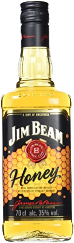 Jim Beam Honey Bourbon Whisky Con Miel, 35% - 700 ml
