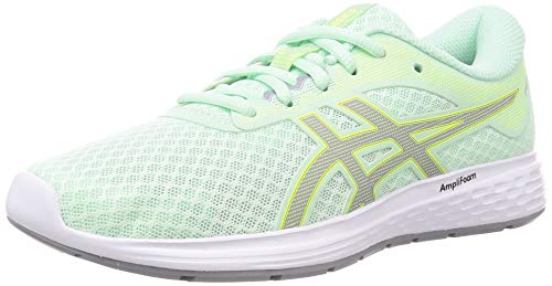 Asics Patriot 11, Running Shoe para Mujer, Menta Tinte/Sheet Rock, 40 EU