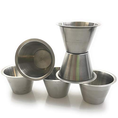 Stainless steel mold baking mold rice pudding molds form 0.10 Ltr.