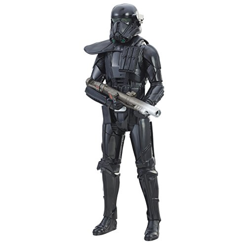 STAR WARS Rogue One Electronic Duel Imperial Death Trooper Figura