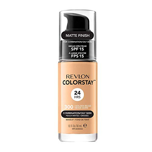 Revlon ColorStay Base de Maquillaje piel mixto/graso FPS15 (#300 Golden Beige) 30ml