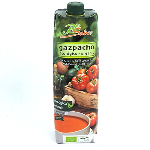 Bio Sabor - Gazpacho with Extra Virgin Olive Oil - 1L (Case of 10)