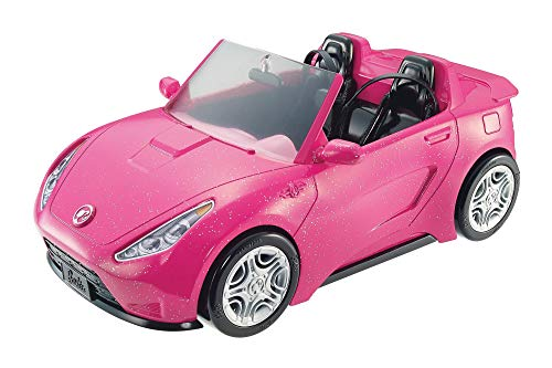 Barbie - Coche descapotable de Barbie - barbie coche - (Mattel DVX59)