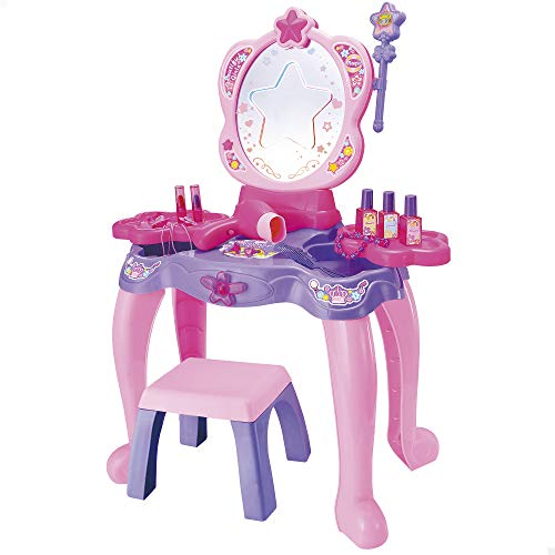 ColorBaby - Centro de belleza tocador infantil con accesorios Beauty Fashion Princess (49173)
