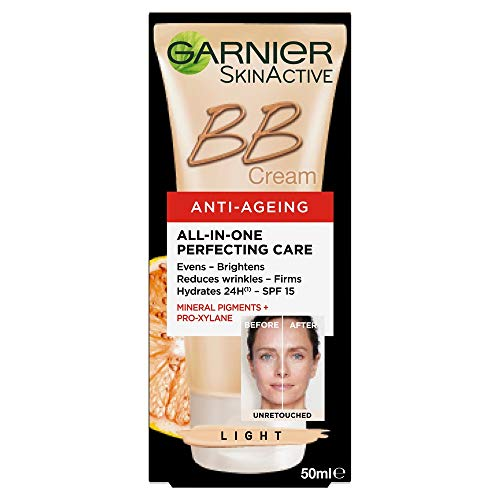 Garnier SkinActive - BB Cream Anti-edad, Clear/Light - 50ml