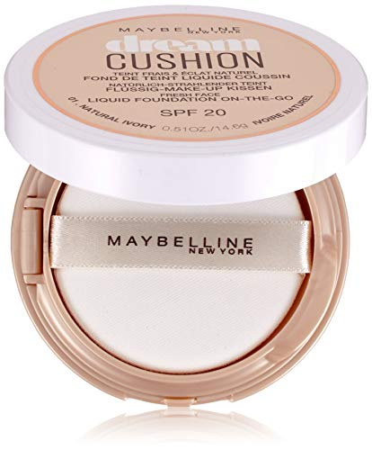 Maybelline MAY DREAM CUSHION FDT NU 1 Natural Ivor base de maquillaje - Base de maquillaje (70 mm, 26 mm, 70 mm, 14.6 g)