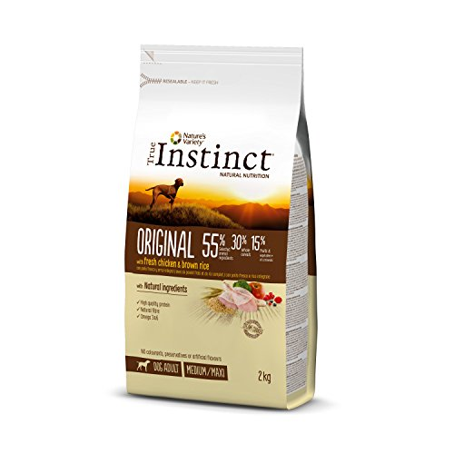 True Instinct Original Pienso para Perros Medium Adult con Pollo - 2000 gr