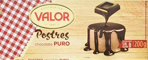 Chocolates Valor - Puro Postres - Chocolate para repostería - 200 g