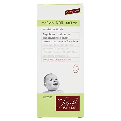 Copos de arroz talco no talco 120 ml