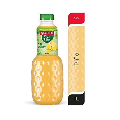 Granini - Zumo Light Piña, Botella 1 L