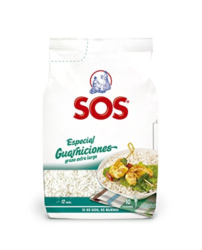Arroz SOS Especial Guarniciones 500G - [Pack De 10] - Total 5 Kg