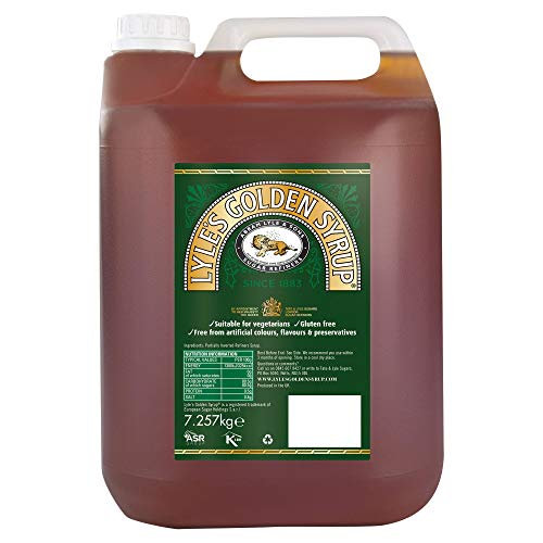 Lyle's Golden Syrup - Pack Size = 2x7.26kg