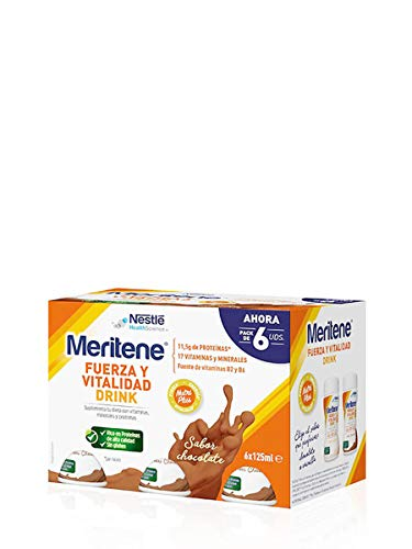Meritene Meritene Drink Chocolate 6Botellas 0.5 500 g
