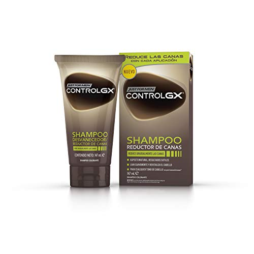 Just For Men, Control GX Champú. Reduce las canas gradualmente. Resultado natural. 147 ml