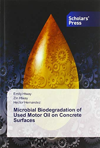 Htway, E: Microbial Biodegradation of Used Motor Oil on Conc