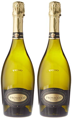 Toso Doc Collio Prosecco - 2 Paquetes de 750 ml - Total: 1500 ml