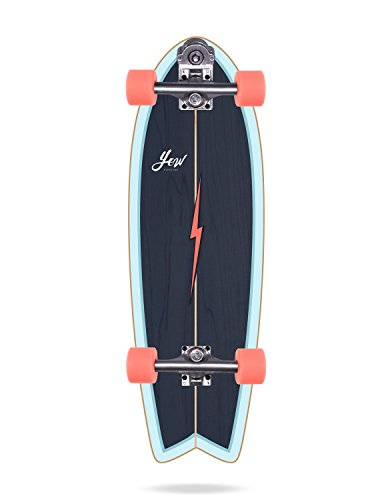 YOW Pipe Surfskate Completos, Unisex Adulto, Azul, 32