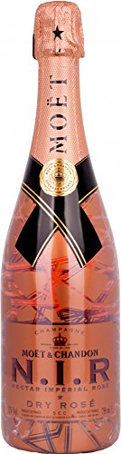 Moet & Chandon N.I.R. Nectar Imperial Dry Luminous Edition rosé - 1 x 0.75 l