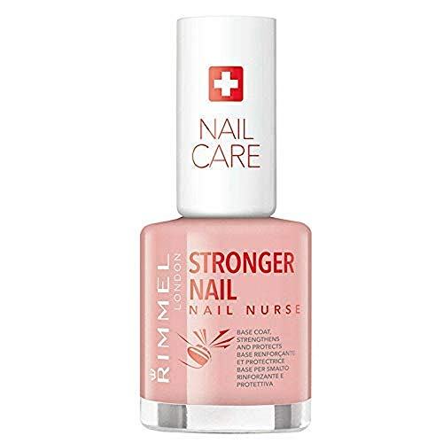 Rimmel London Nail Nurse Stronger Nail. Tratamiento para uñas Tono Base Coat - 12 ml