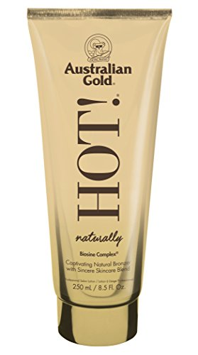 Australian Gold Naturally Hot. Acelerador y optimizador del bronceado 250ml