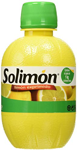 Solimon Zumo de Limón - 3 Botellas