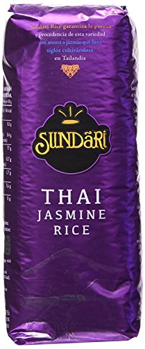 Sundari Arroz Thai Jasmine 500G - [Pack De 8] - Total 4 Kg