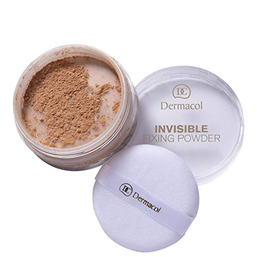 Dermacol Invisible Fixing Polvos de Maquillaje, Tono: Natural, 13 g